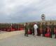 Перезахоронение останков солдат в День памяти и скорби на мемориальном кладбище в Россошках