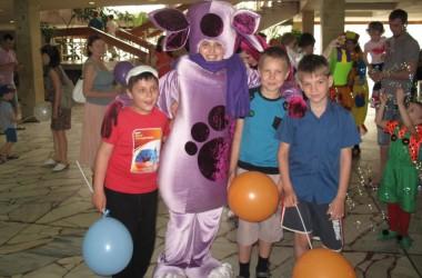 Праздник для детей из многодетных и малообеспеченных семей состоялся в городе Волжском