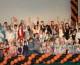 Воспитанники воскресной школы «Вдохновение»на фестивале Воскресных школ «Наши именины»