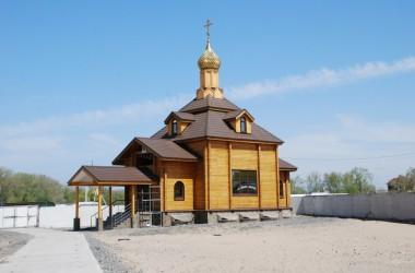В новом храме села Захаровка прошел первый престольный праздник