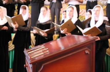 Царицынский православный университет. Выпускной квалификационный экзамен по академическому дирижированию