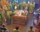 11 июля 2015 года, в день памяти прп. Сергия и Германа Валаамских, чудотворцев, митрополит Волгоградский и Камышинский Герман совершил Божественную литургию в Свято-Духовом монастыре