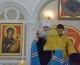19 июля 2015 года митрополит Волгоградский и Камышинский Герман совершил Божественную литургию в Свято-Владимирском храме