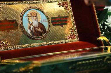 В Волгоград принесены мощи святого равноапостольного князя Владимира