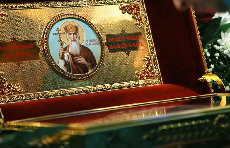 В Волгоград будут принесены мощи святого равноапостольного князя Владимира