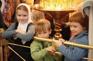 В волгоградских храмах прошли молебны на начало учебного года