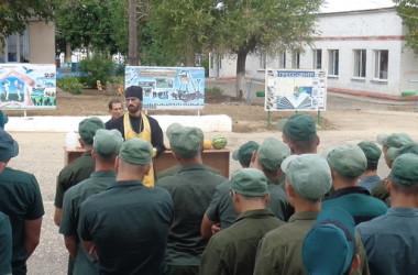 В праздник Преображения Господня воспитанников Камышинской колонии для несовершеннолетних посетил священник