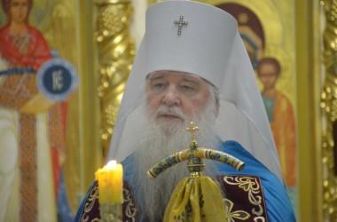 1 августа 2015 года митрополит Волгоградский и Камышинский Герман совершил Всенощное бдение в Казанском соборе