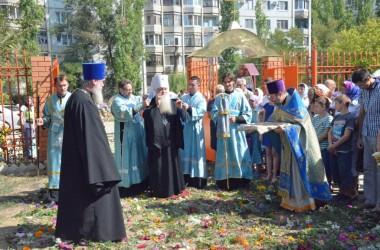 28 августа митрополит Волгоградский и Камышинский Герман совершил Божественную литургию в Свято-Успенском храме