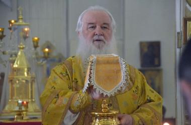 2 августа 2015 года митрополит Волгоградский и Камышинский Герман совершил Божественную литургию в Свято-Ильинском храме
