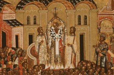 Слово Святейшего Патриарха Кирилла в праздник Крестовоздвижения в Иосифо-Волоцком монастыре