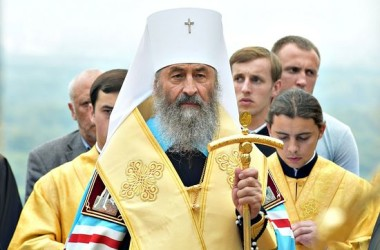 Митрополит Онуфрий обратился к Порошенко в связи с событиями в Катериновке
