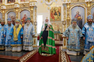 Слово Святейшего Патриарха Кирилла в праздник Рождества Пресвятой Богородицы