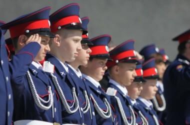 Воспитанники казачьего кадетского корпуса имени К.И. Недорубова приняли присягу