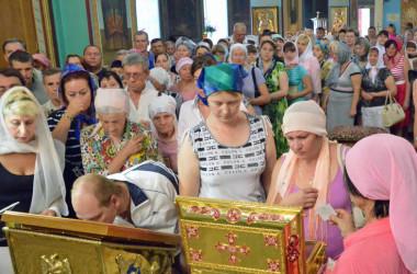 Завершилось пребывание в Волгоградской епархии мощей святого князя Владимира