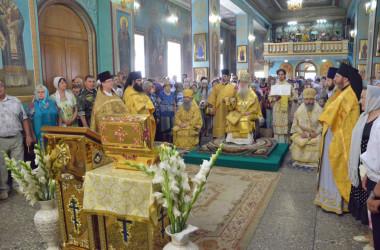 6 сентября митрополит Волгоградский и Камышинский Герман совершил Божественную литургию у мощей святого князя Владимира