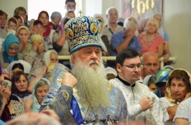21 сентября митрополит Волгоградский и Камышинский Герман совершил Божественную литургию в храме Рождества Богородицы