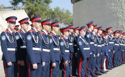 Торжественная церемония присяги кадет состоялась на Мамаевом кургане