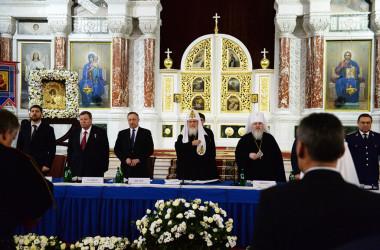 Выступление Святейшего Патриарха Кирилла на V Международном конгрессе казаков