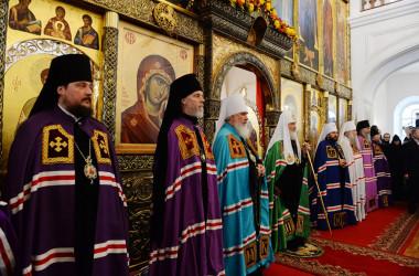 Проповедь Святейшего Патриарха Кирилла после в день празднования Собора Оптинских старцев