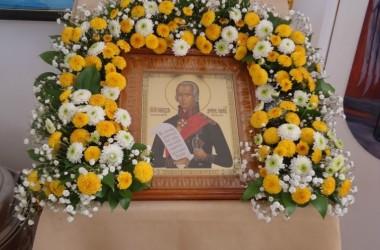 В храме святого праведного Феодора Ушакова прошел престольный праздник