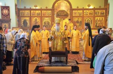 Божественная литургия в день отдания праздника Воздвижения Честного и Животворящего Креста Господня