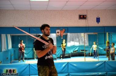 Начались занятия для молодежи по традиционным военным искусствам