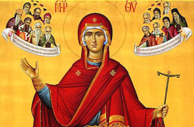 Волгоградцы смогут поклониться образу Пресвятой Богородицы, привезенному со святой горы Афон