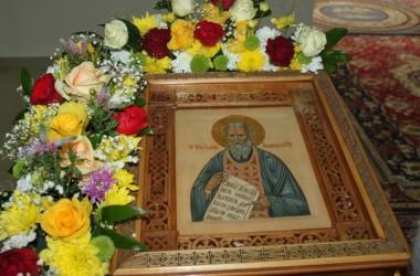 В Иоанно-Кронштадтском храме прошел престольный праздник