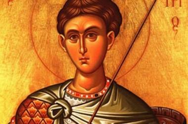 Похвала святому и славному великомученику Христову Димитрию Солунскому