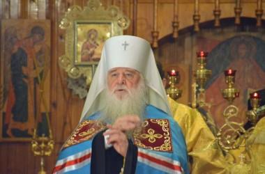 Митрополит Волгоградский и Камышинский Герман совершил Всенощное бдение в Свято-Духовом монастыре