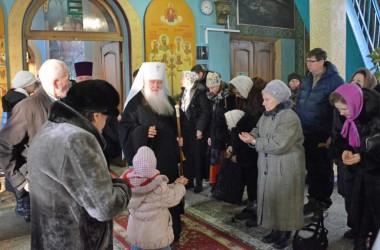 Двадцать четвертого января митрополит Волгоградский и Камышинский Герман совершил Божественную литургию