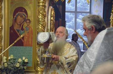 В праздник Святого Богоявления митрополит Волгоградский и Камышинский Герман совершил Божественную литургию