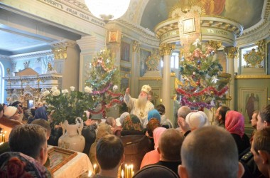 В праздник Обрезания Господня, митрополит Волгоградский и Камышинский Герман совершил Божественную литургию