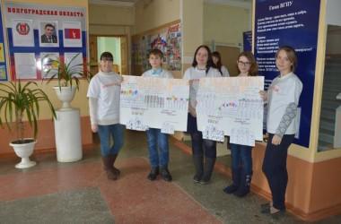 Православный молодежный клуб провел акцию «Флешмоб доброты и вежливости» в Михайловском профессионально-педагогическом колледже