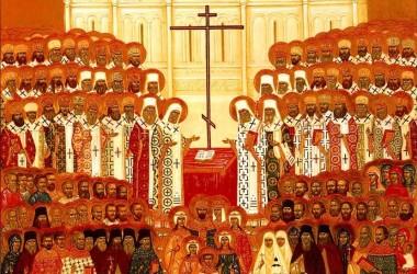 В день памяти новомучеников и исповедников Церкви Русской в Свято-Духовом монастыре состоялись торжественные богослужения