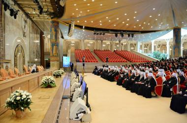 Митрополит Волгоградский и Камышинский Герман принимает участие в Освященном Архиерейском Соборе Русской Православной Церкви