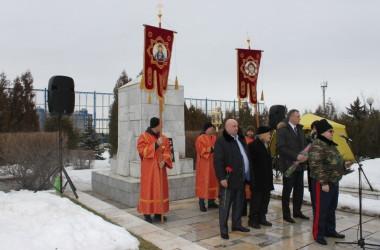 Лития по погибшим во время Сталинградской битвы бойцам и мирным жителям совершена в благочинии Северного округа