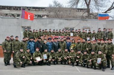 Иерей Андрей Горячев принял участие в церемонии награждения сотрудников ОСН «Барс»