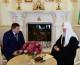 Святейший Патриарх Кирилл и губернатор Волгоградской области А.И. Бочаров обсудили план строительства кафедрального собора в Волгограде