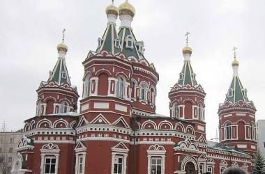 В Казанском соборе прошли масленичные гуляния