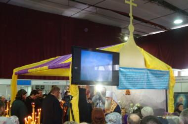 Волгоградцы встретили ковчег с частицей мощей святого великомученика Пантелеймона