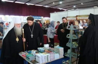 Митрополит Волгоградский и Камышинский Герман посетил выставку-форум «Радость слова»