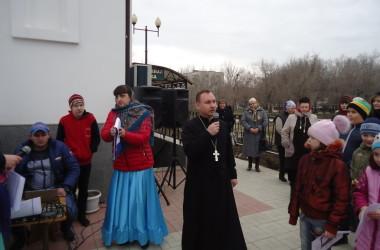 В храме адмирала Феодора Ушакова прошли традиционные масленичные гуляния