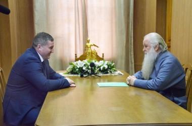 Губернатор Волгоградской области Андрей Бочаров возглавил попечительский совет по строительству храма Александра Невского