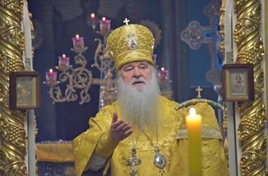 Шестого марта митрополит Волгоградский и Камышинский Герман совершил Божественную литургию в Казанском соборе