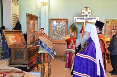 В день памяти священномученика Николая Попова митрополит Волгоградский и Камышинский Герман совершил Божественную литургию