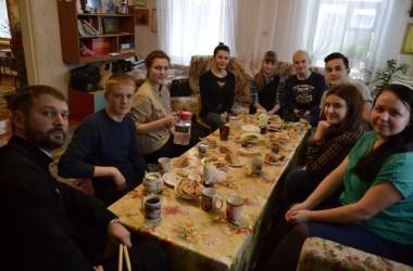 В православном молодежном клубе «ПИЛИГРИМ» встретили масленицу