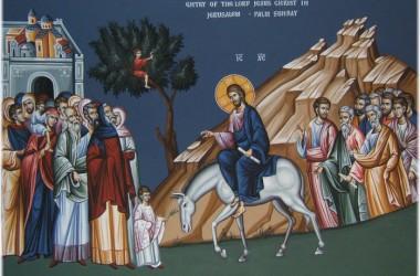 Патриаршая проповедь в праздник в праздник Входа Господня в Иерусалим