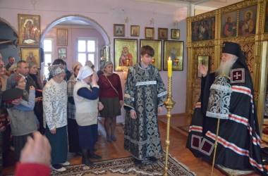 Митрополит Волгоградский и Камышинский Герман совершил Литургию Преждеосвященных Даров в храме святой равноапостольной княгини Ольги